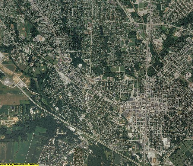 St. Clair County, Illinois aerial photography