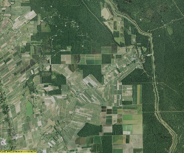 St. Martin County, Louisiana aerial photography