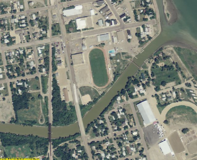 Stanley County, SD aerial photography detail
