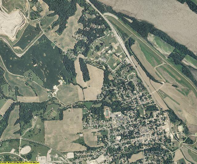 Ste. Genevieve County, Missouri aerial photography
