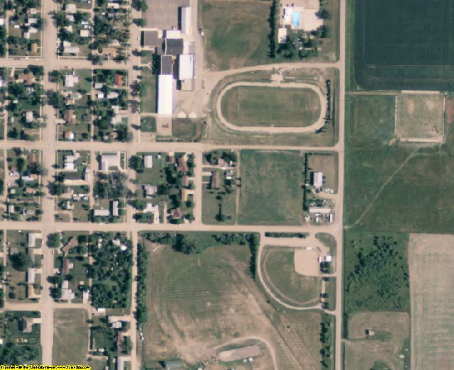 Sully County, SD aerial photography detail