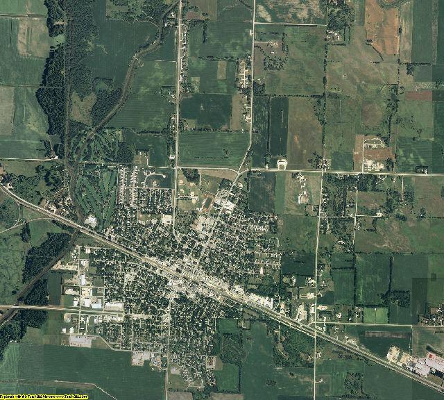 Swift County, Minnesota aerial photography