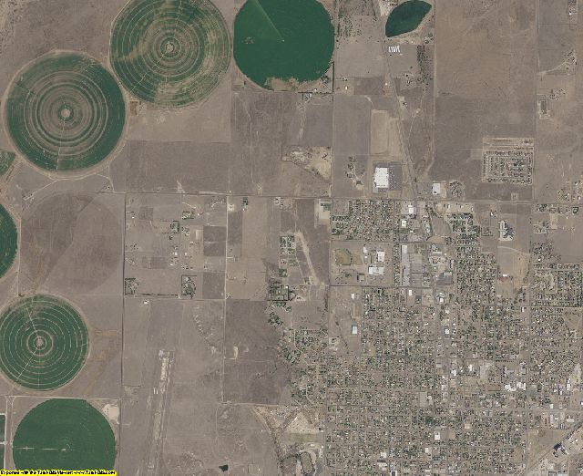 Texas County, Oklahoma aerial photography