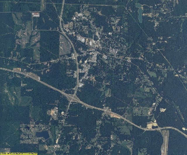 Tishomingo County, Mississippi aerial photography