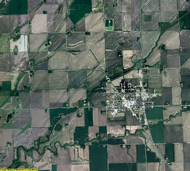 Traverse County, Minnesota aerial photography