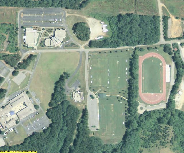 Troup County, GA aerial photography detail
