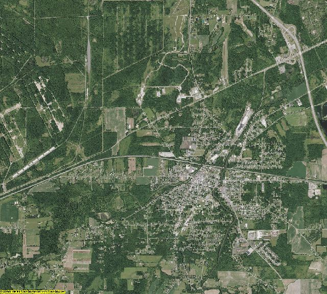 Trumbull County, Ohio aerial photography