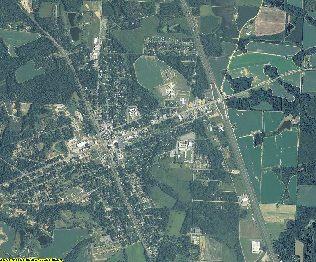 Turner County, Georgia aerial photography