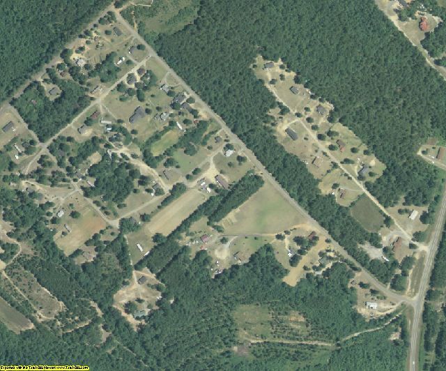 Twiggs County, GA aerial photography detail
