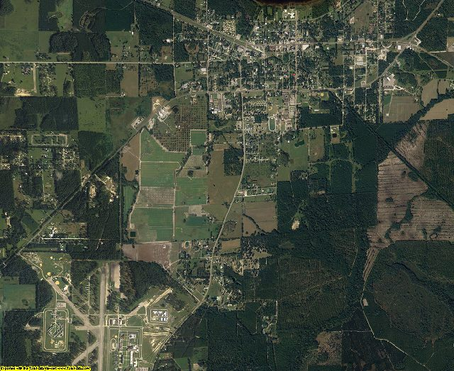Union County, Florida aerial photography
