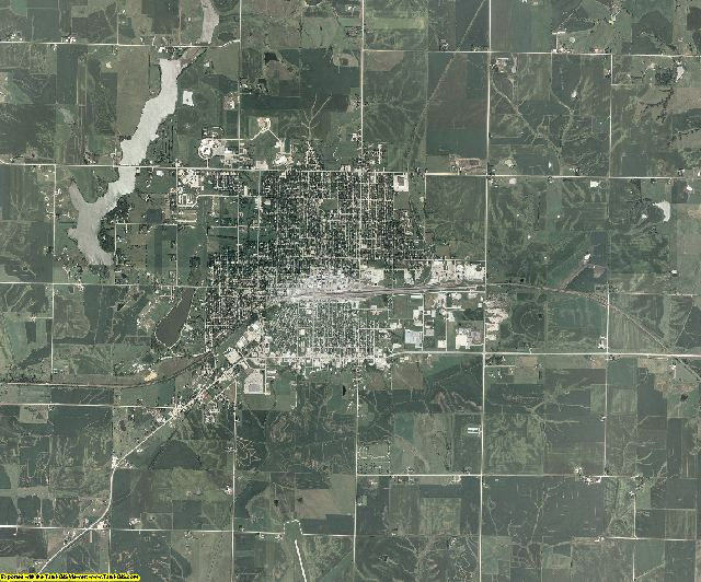 Union County, Iowa aerial photography