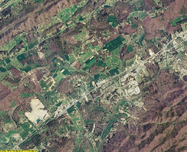 Union County, Tennessee aerial photography