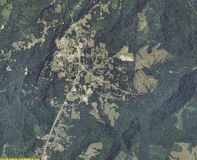 Van Buren County, Tennessee aerial photography