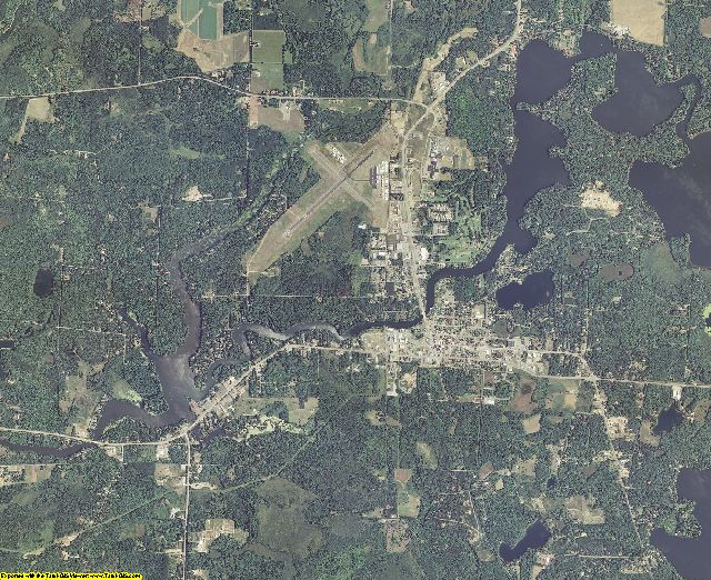 Vilas County, Wisconsin aerial photography