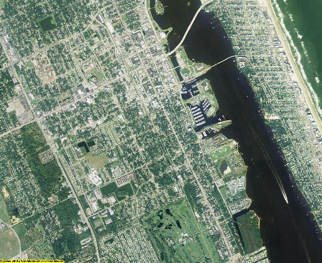 Volusia County, Florida aerial photography