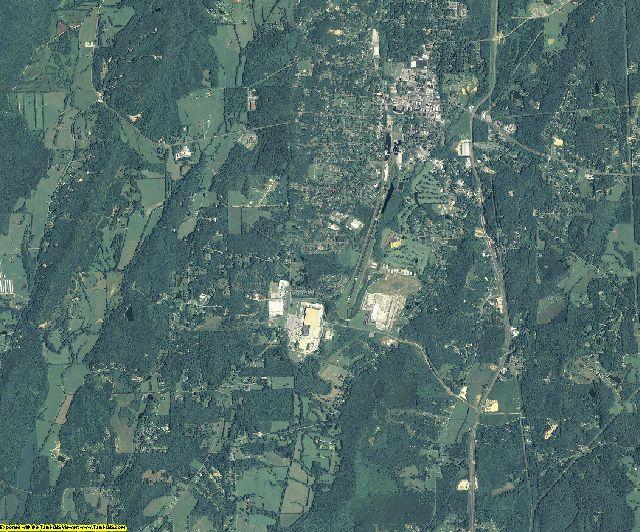 Walker County, Georgia aerial photography