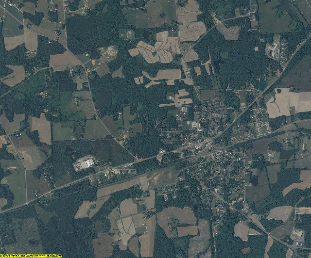 Warren County, NC aerial photography detail