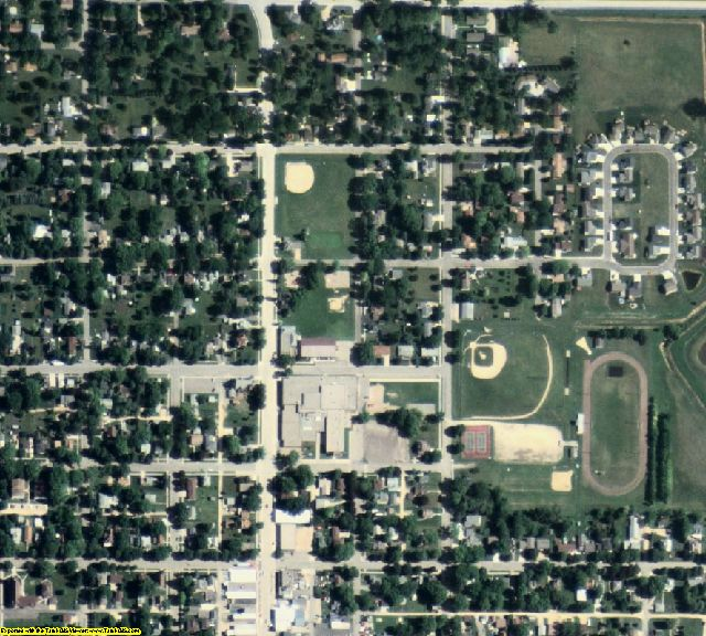 Waseca County, MN aerial photography detail