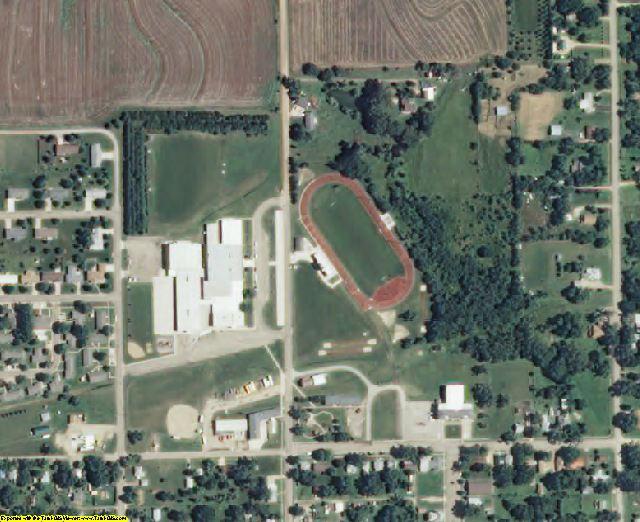 Washington County, KS aerial photography detail