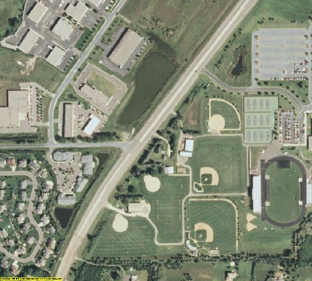 Washington County, MN aerial photography detail