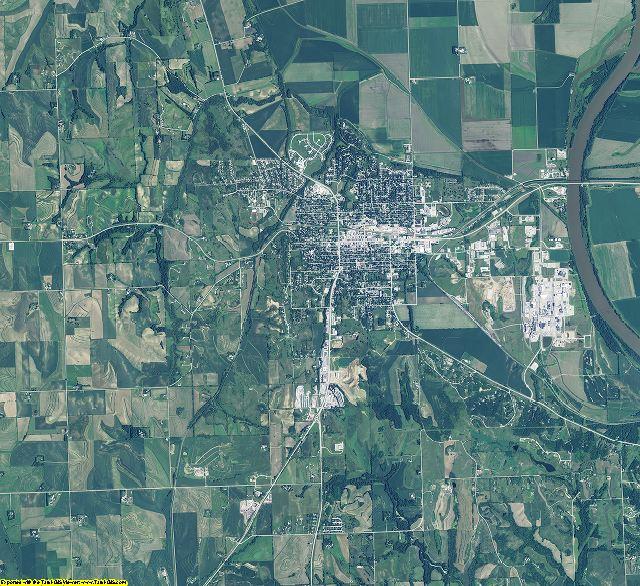 Washington County, Nebraska aerial photography