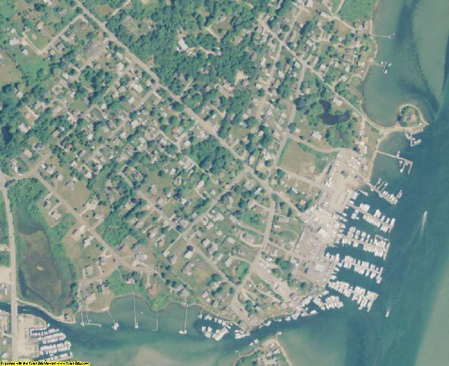 Washington County, RI aerial photography detail