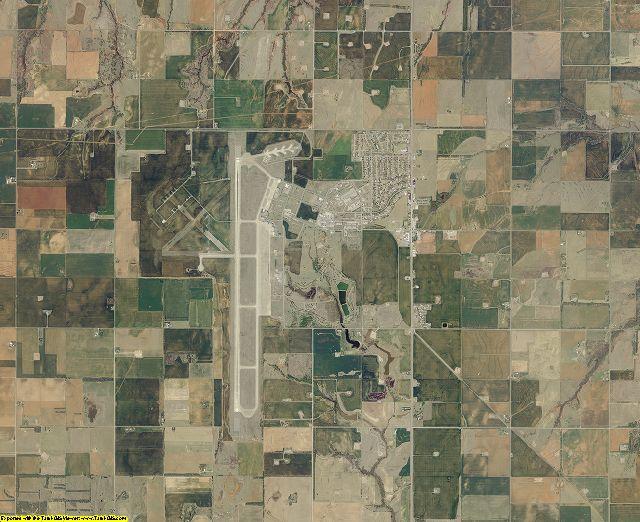 Washita County, Oklahoma aerial photography