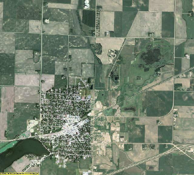 Watonwan County, Minnesota aerial photography