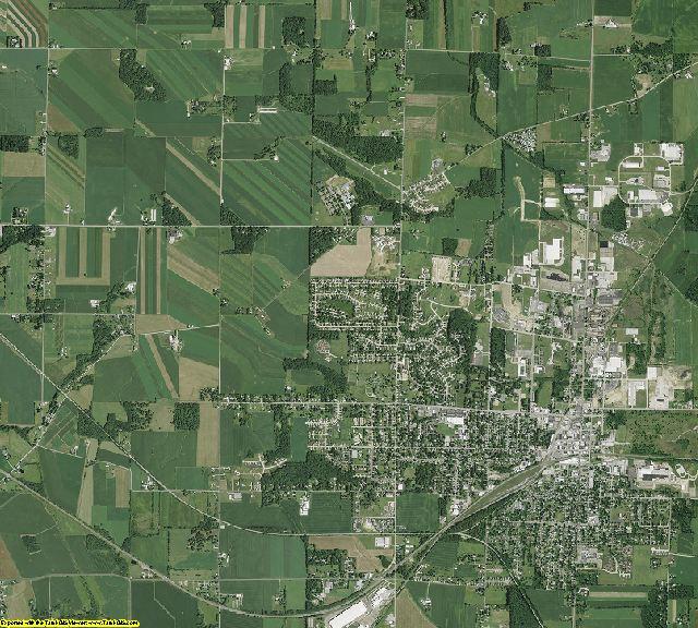 Wayne County, Ohio aerial photography
