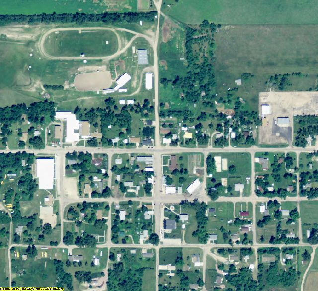 Wheeler County, NE aerial photography detail