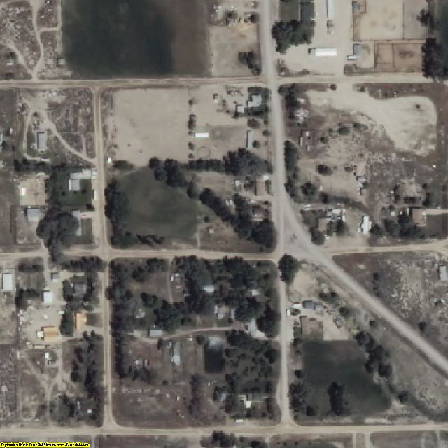 White Pine County, NV aerial photography detail