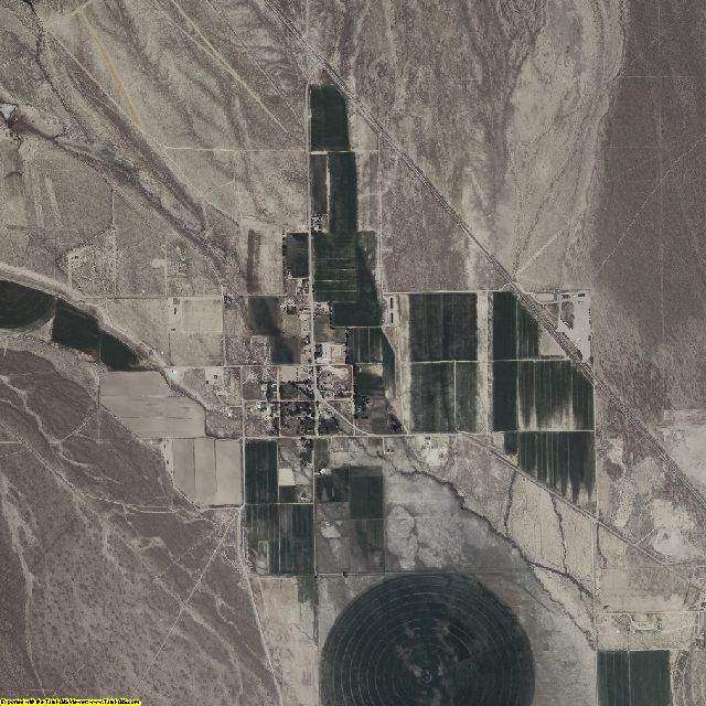 White Pine County, Nevada aerial photography