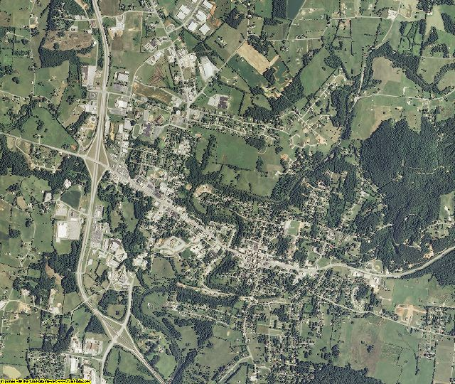 White County, Tennessee aerial photography