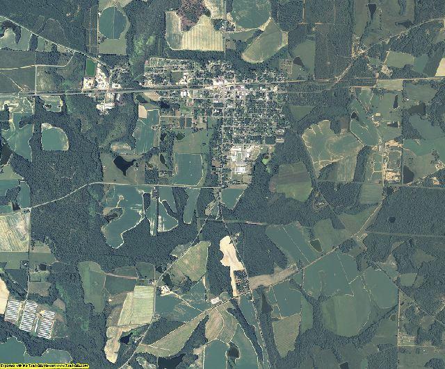 Wilcox County, Georgia aerial photography