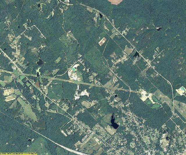 Wilkinson County, Georgia aerial photography
