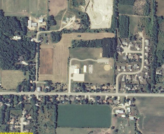 Winnebago County, WI aerial photography detail