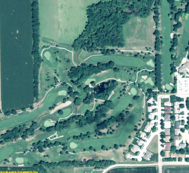 York County, NE aerial photography detail