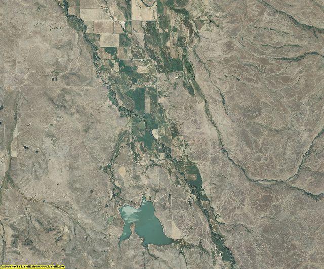 Adams County, Idaho aerial photography