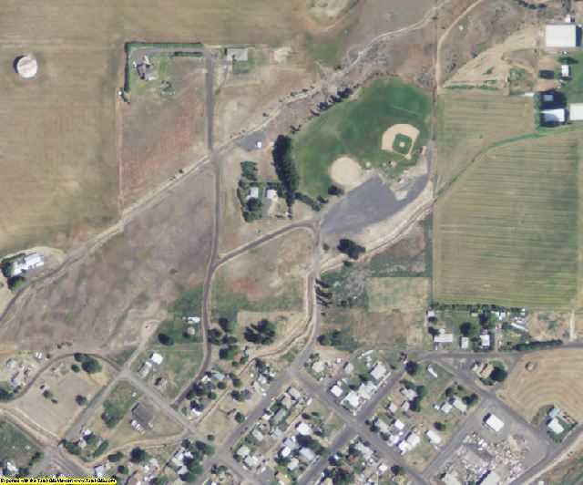 Adams County, WA aerial photography detail