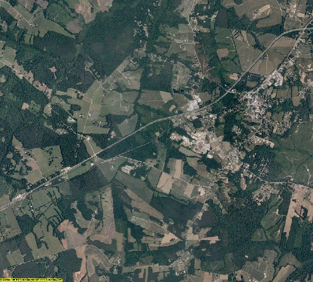 Amelia County, Virginia aerial photography