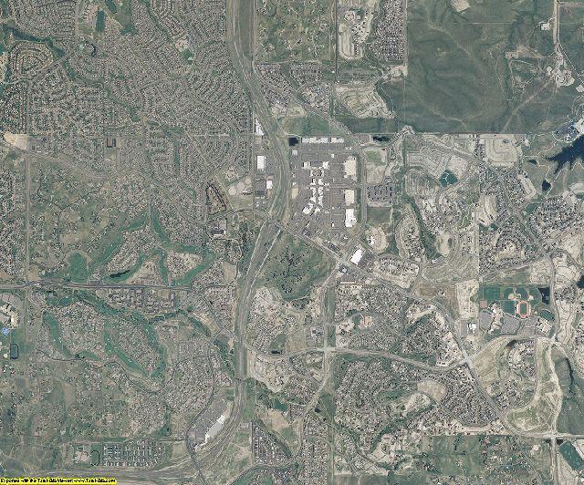 Arapahoe County, Colorado aerial photography
