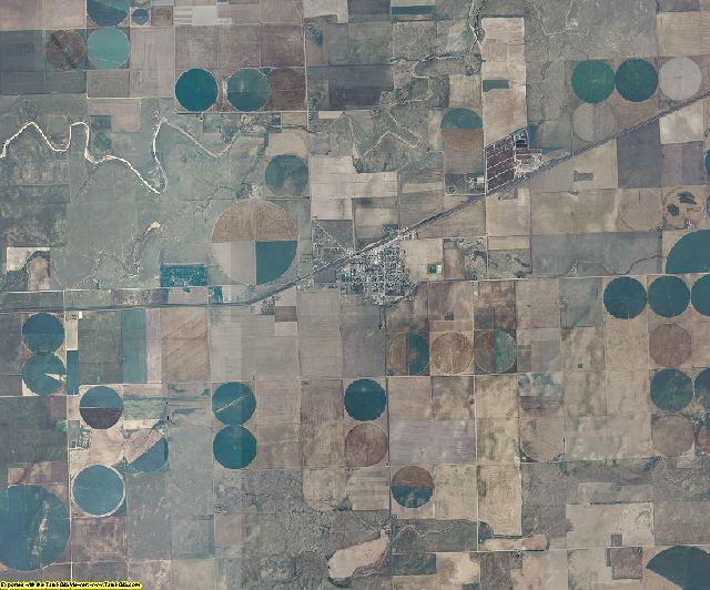 Baca County, Colorado aerial photography