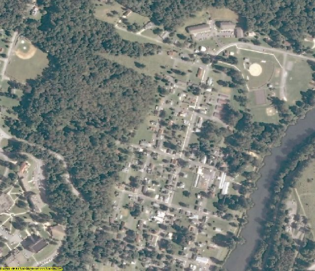 Barbour County, WV aerial photography detail