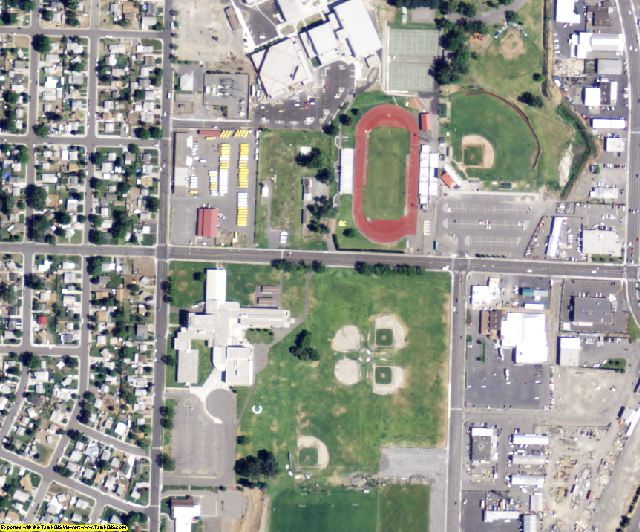 Benton County, WA aerial photography detail