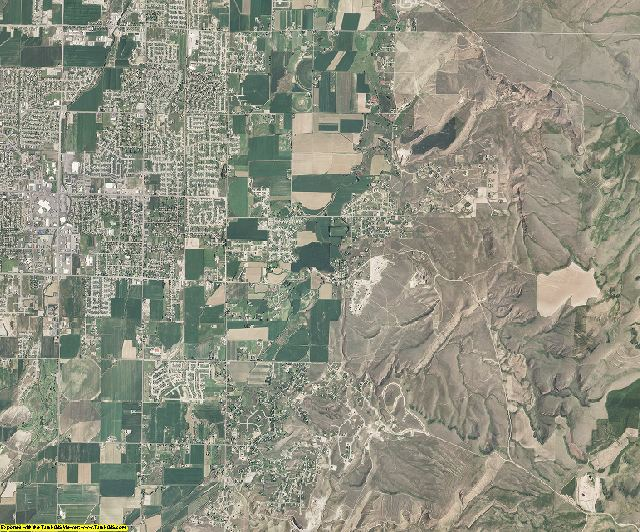 Bonneville County, Idaho aerial photography
