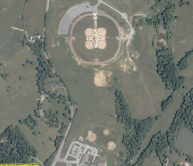 Botetourt County, VA aerial photography detail