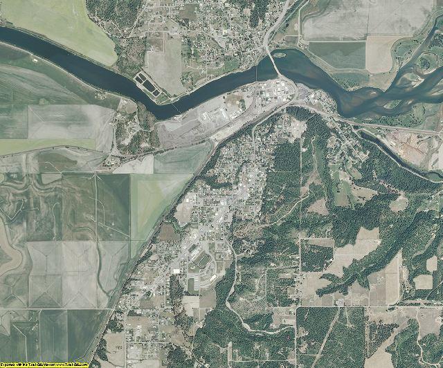 Boundary County, Idaho aerial photography