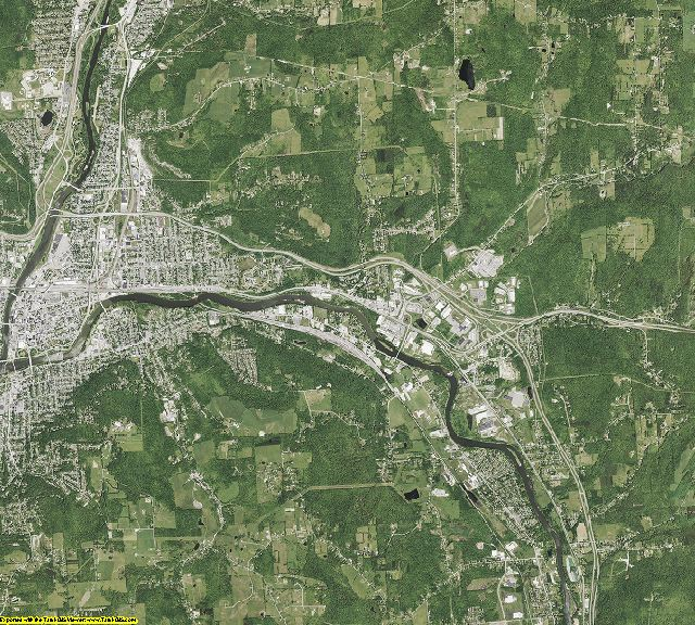 Broome County, New York aerial photography