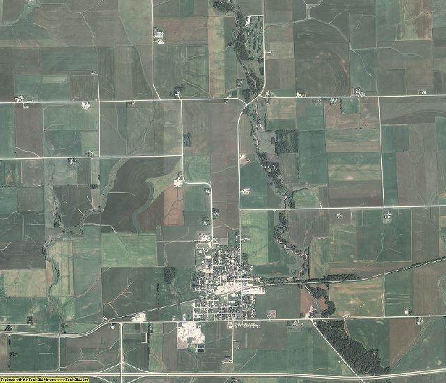 Buchanan County, Iowa aerial photography