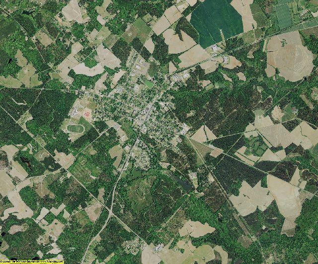 Calhoun County, South Carolina aerial photography